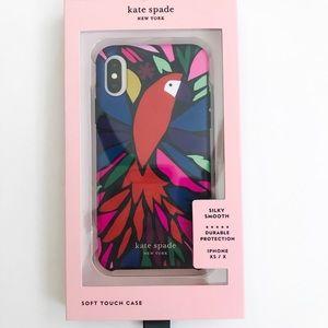 Kate Spade Papercut Parrot iPhone Case